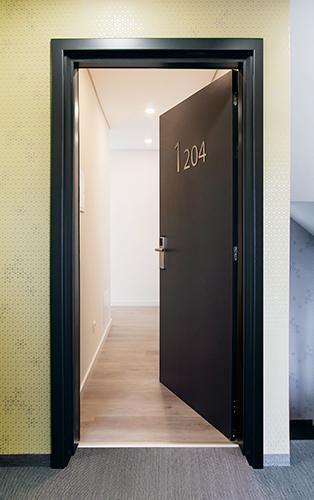 Open Hotel Door
