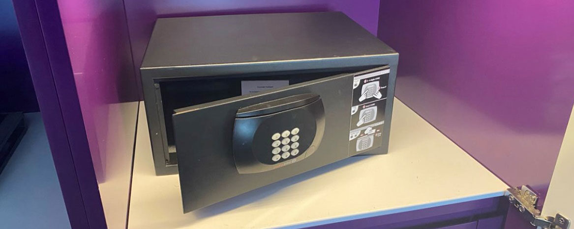 Hotel roomsafes