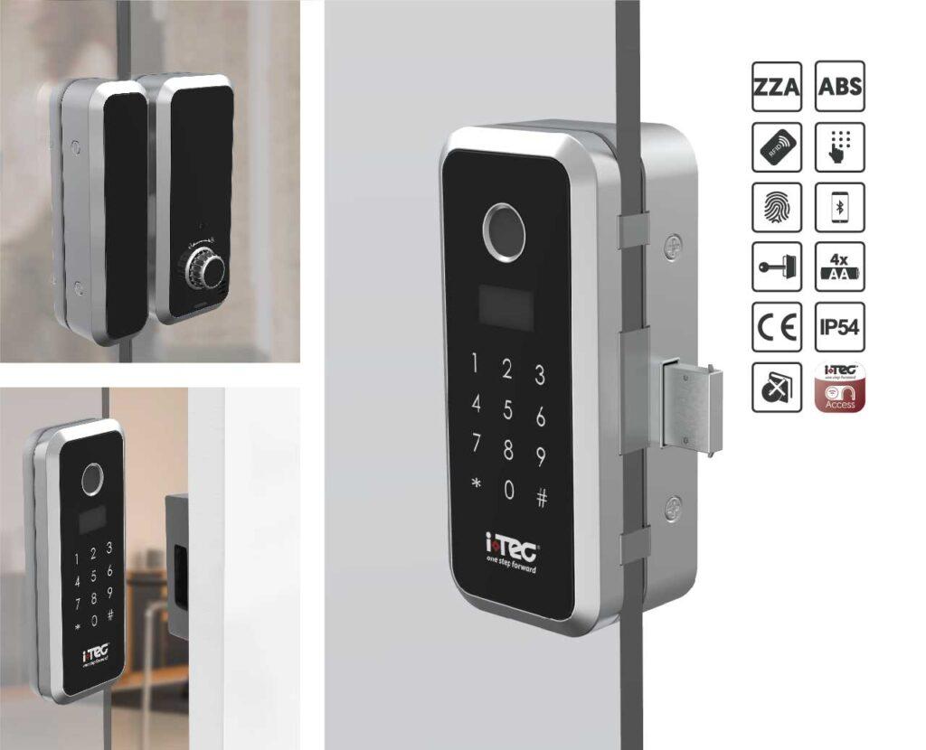 Smart Glass Door Lock Image