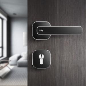 HLS160 Lever Handle RFID Hotel Door Lock Image
